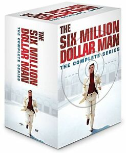 THE SIX MILLION DOLLAR MAN - Complete TV Series 1-4 Boxset (NEW DVD)