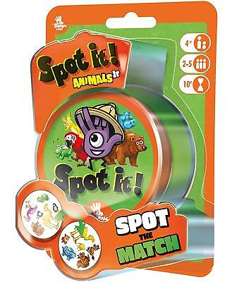 Spot It Games (Spot It! Junior Animals Family Card Game Asmodee Zygomatic Party Blister Pack)
