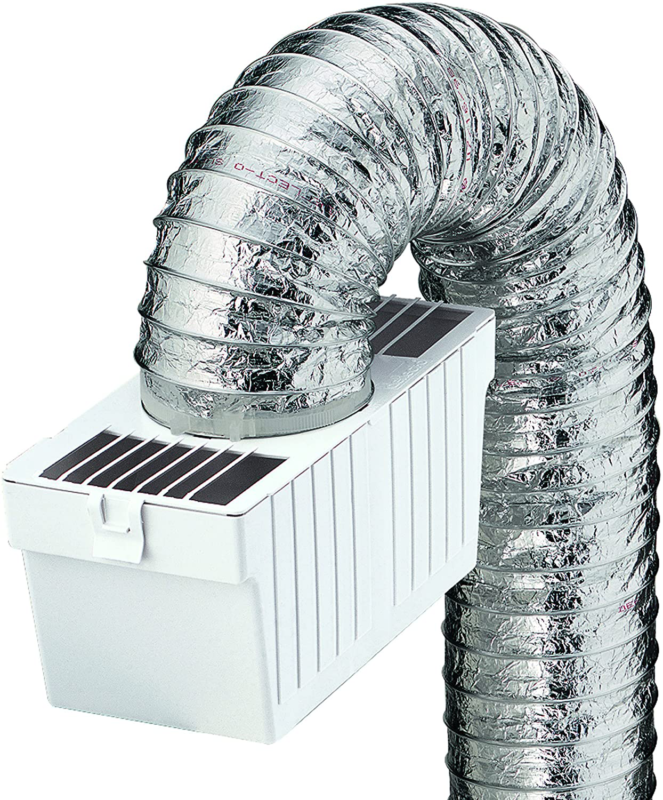 Deflecto Dryer Lint Trap Kit, Indoor Venting with Supurr-Fle