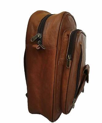 Rucksack Vintage Backpack Travel Laptop Bag Goat Best seller Leather Messenger