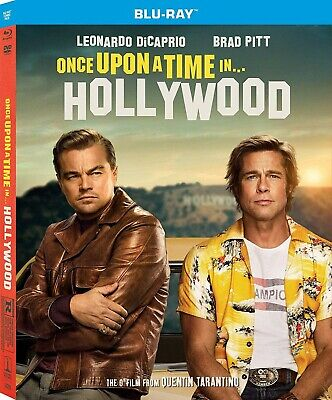 Once Upon a Time in Hollywood - Blu-ray ONLY- BRAND NEW ***FREE SHIPPING***