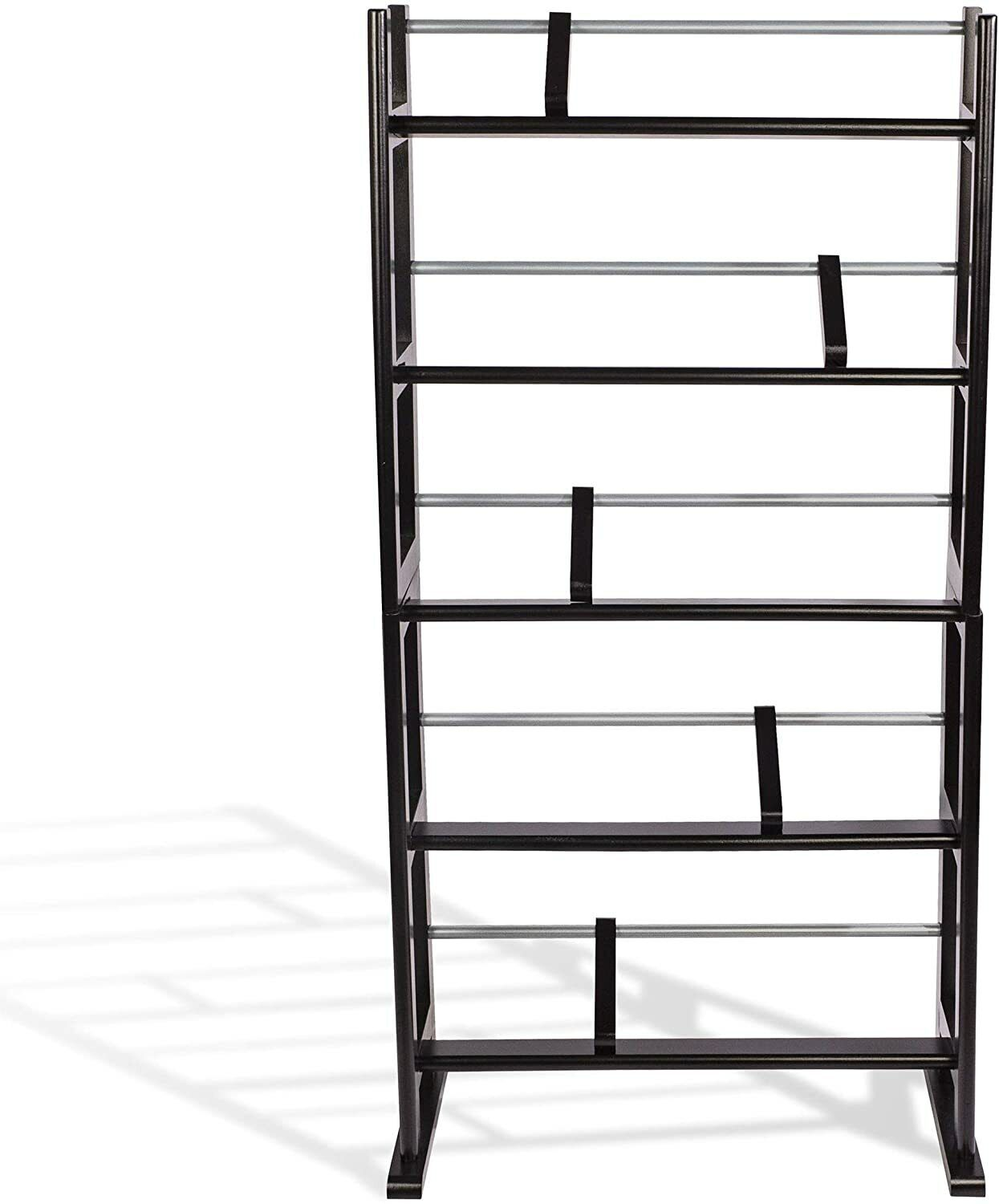Holds Up To 230 CDs Or 150 DVDs, Contemporary Wood Metal Design With Wide Feet - $37.99
