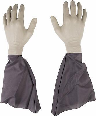 Zombie Lawn Decorations ( Zombie Lawn 1 Pair Arms & Hands (2) Stakes Outdoor Halloween)