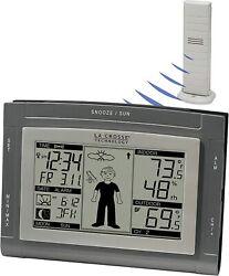 La Crosse Technology Wireless Weather Station w/ Sun/Moon & Advanced Forecast