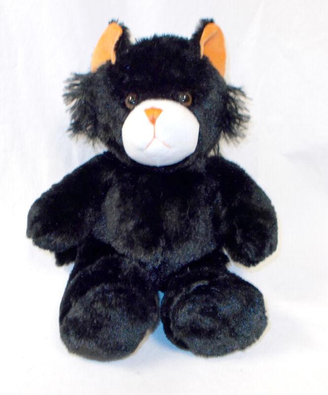 Unstuffed Black Cat Kitty Plush Build Stuff Your Own Animal NeW