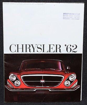 Chrysler 1962 300 Newport New Yorker Sales Brochure