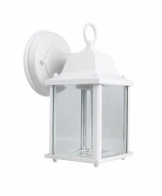 CORAMDEO Outdoor Wall Porch Light - White Powder Coat Cast Aluminum Cast Aluminum Outdoor Lighting