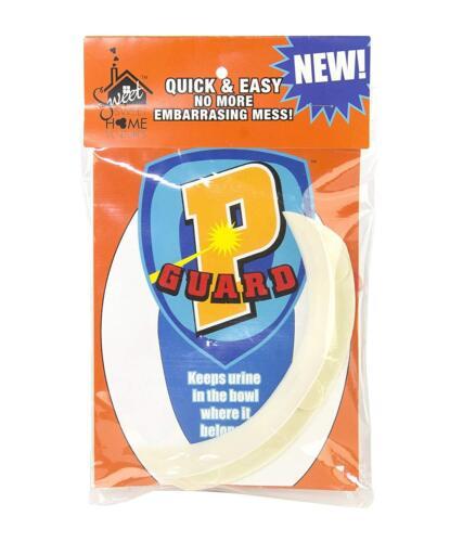 P Guard  Urine Pee Deflector Splash Guard for Toilet SEATS----brand new