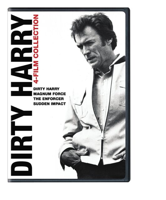 DIRTY HARRY COLLECTION MAGNUM FORCE THE ENFORCER SUDDEN IMPACT DVD R4