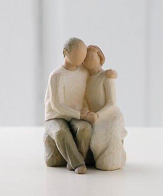 Willow Tree Anniversary Resin Figurine Love Couple Keepsake Ornament Gift Box
