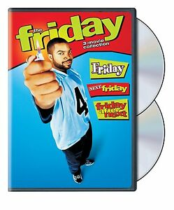 FRIDAY (Ice Cube) 1 2 & 3 Next After (3 movie set)  -  DVD - REGION 1 - SEALED