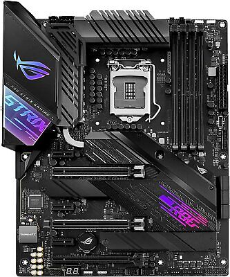 ASUS ROG Strix Z490-E Gaming Z490 WiFi 6 LGA 1200 Intel 10th Gen ATX Motherboard