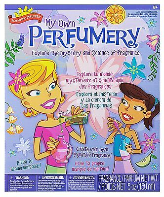Scientific Perfume Science Kit Set Project Kid Child Teen Experiment Potion Lab