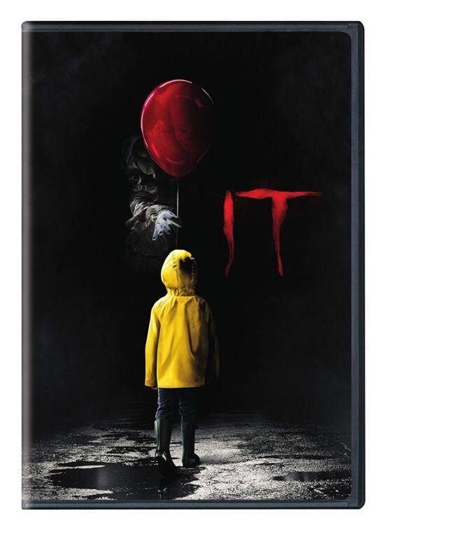 It (DVD, 2018, 2-Disc Set) NEW