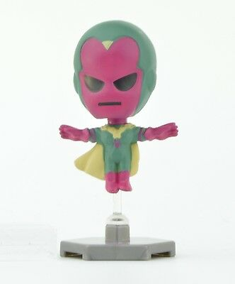 Marvel The Avengers 2-Inch Buildable Bobble Head Mini Figure - Vision (The Vision Avengers 2)