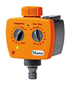 Papillon timer centralina analogica programmatore per for Centralina x irrigazione