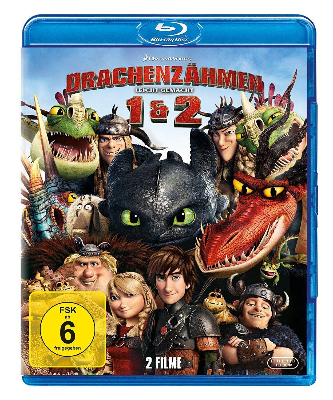 2 Blu-rays * DRACHENZÄHMEN LEICHT GEMACHT 1 & 2 # NEU OVP +