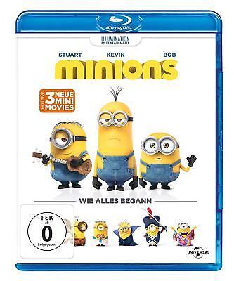 Die Minions, wie alles begann - der Film - Blu-Ray - NEU&OVP der Kinofilm (Der Film Minions)