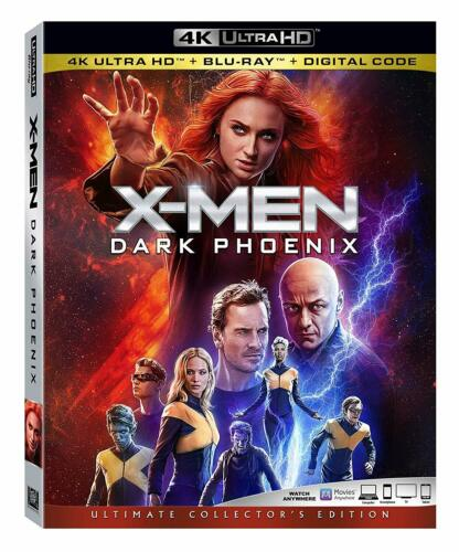 X-MEN DARK PHOENIX (2019, 4K UHD Disc Brand New Factory Sealed - Read Details