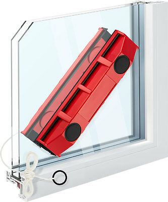 Glider Magnetic Window Cleaner For Hard To Reach Outer Window Side Single Glaze