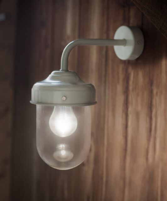 Garden Trading LACL02 Outdoor Wall Barn Light in Clay (NEW)