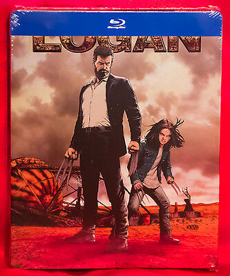 Logan   The Wolverine  Limited Edition Steelbook  Blu Ray  New
