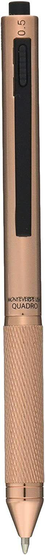Monteverde Quadro 4 in 1 Multifunction Pen, Copper, New in Box Ballpoint Pens