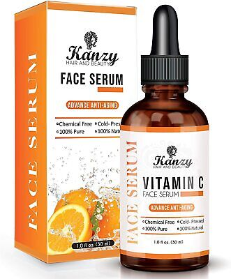 Pure Strong Hyaluronic Anti Wrinkle Anti Aging Vitamin C Face Serum
