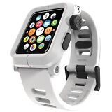 NEW LUNATIK EPIK Polycarbonate - Silicone Band for Apple Watch Case 42mm WHITE