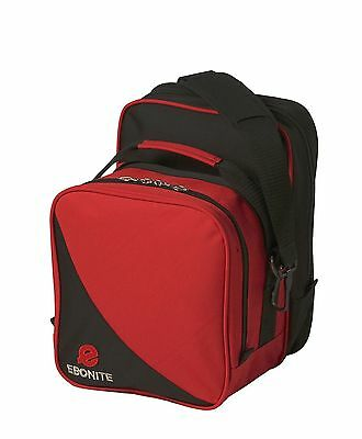 Ebonite Compact Single Red/Black 1 Ball Bowling Bag