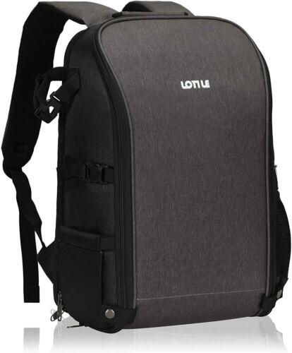 24L Professional Camera Backpack Laptop Bag Waterproof for DSLR SLR  Rain Cover