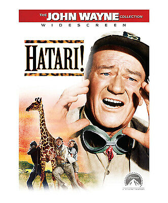 Hatari DVD John Wayne NEW, SEALED!  RARE!  Hatari!