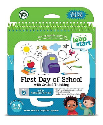 LeapFrog Pre-Kindergarten Activity Book: 1st Day of School & Critical Thinking