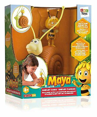 Shelby The Snail With Maya The Bee Push Along Toy
