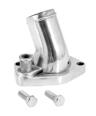 Ford Water Outlet - SPECTRE 42321 Chrome Thermostat Housing Water Outlet Neck - SBF Ford 302 351 V8