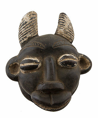 Mask Diminutive African Passport Miniature Earth Cotta Zoomorphic 6448 AF1