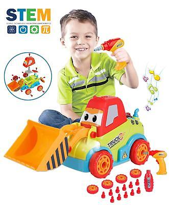 Take a Part Toy Assembly Toy Car Truck Construction Bulldozer Toys 3-5 Years old