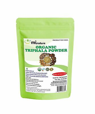 MI Nature Organic Triphala Powder 0.5lb (8 oz) * NEW Sealed Exp 4/2020, used for sale  Shipping to South Africa