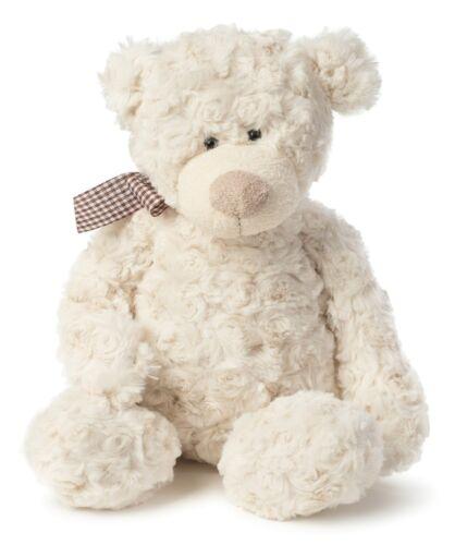 Joon Freddy Rosy Plush Teddy Bear, Cream, 12 Inches