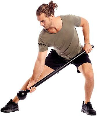 Steel Mace Bell Strength Training & Full Body Workouts Unisex 7 lb Fitness Kit