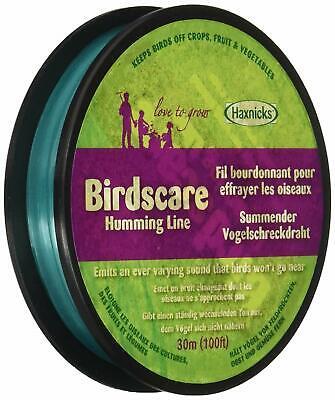 Birdscare Tape Humming Line Garden Outdoors Birds Deterrent Control Pest 30M