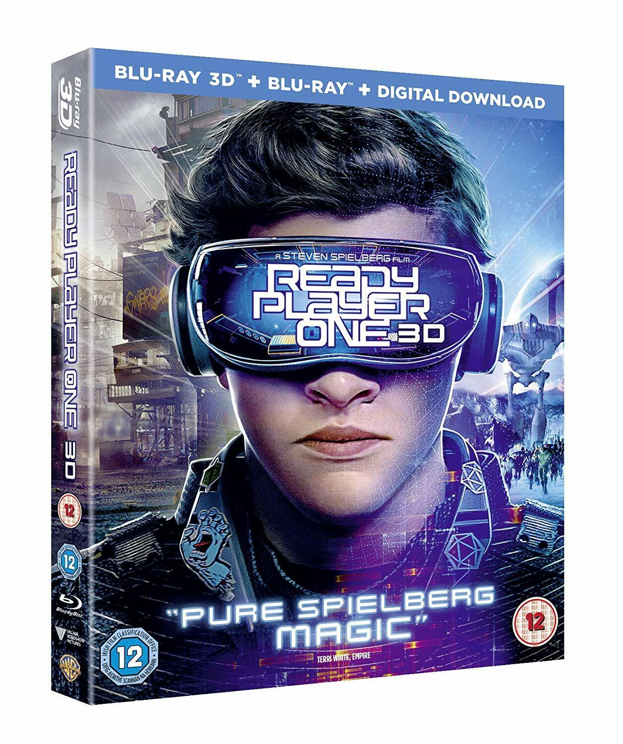 ready player one 3d 2d blu ray