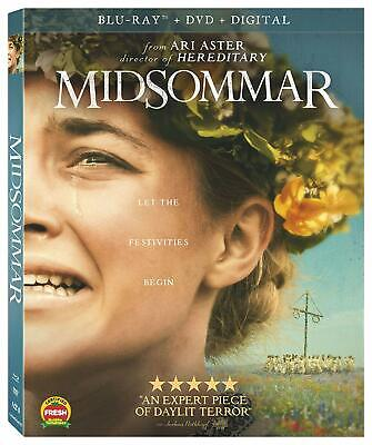 MIDSOMMAR (Blu-ray, DVD & Digital) with Slipcover