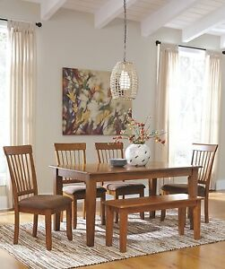 Dining Room Tables With A Bench lebanon 3 piece wood dining set Kitchen Dining Room Bench Rustic Wood Seat Indoor Home Coffee Table Brown Finish