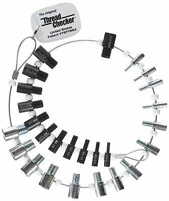 Thread Checker Swtc-26 Nut Bolt Inch Metric 26 Malefemale Gauges 7877882