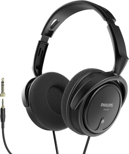 Philips Wired Stereo Headphones for Podcasts, Studio Monitoring and Recording