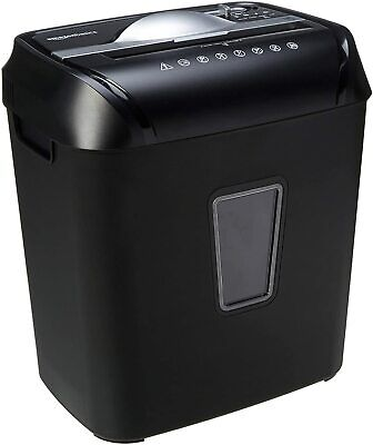 New Amazon Basics 12-sheet Cross-cut Paper And Credit Card Home Office Shredder