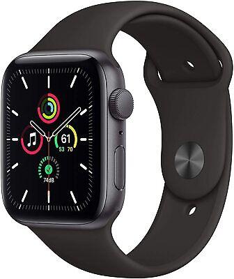 Apple Watch SE GPS 44 mm Cassa Alluminio Grigio Siderale Cinturino Sport NUOVO