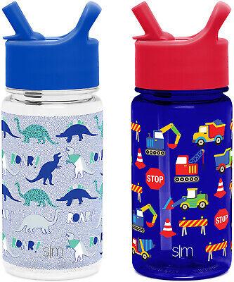 2 pack summit kids tritan water bottle