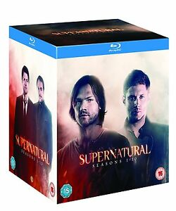 SUPERNATURAL 1-10 COMPLETE  SEASON 1 2 3 4 5 6 7 8 9 10 BLU-RAY BOX SET